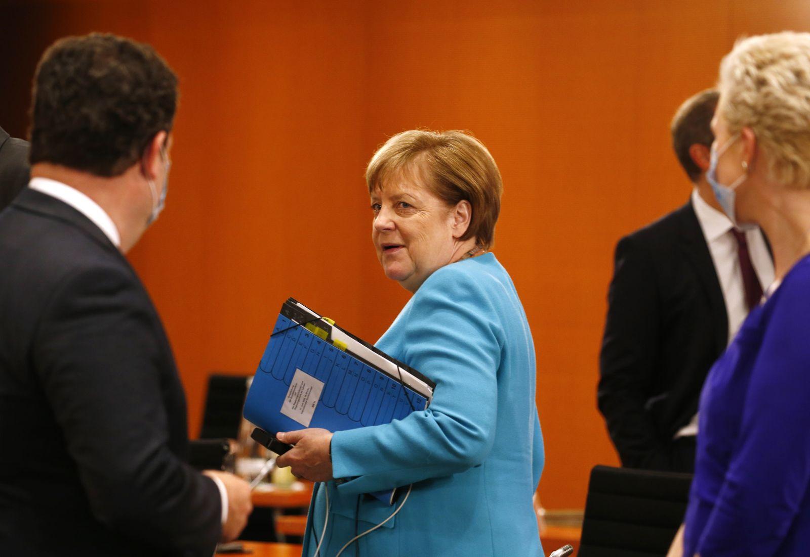 Chancellor Merkel meets German Federal State Premiers in Berlin, Germany - 17 Jun 2020