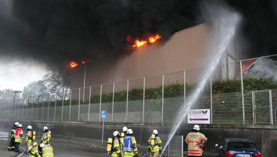 Feuerwehreinsatz in Aachen