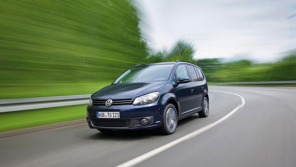 VW Touran mit Erdgasantrieb