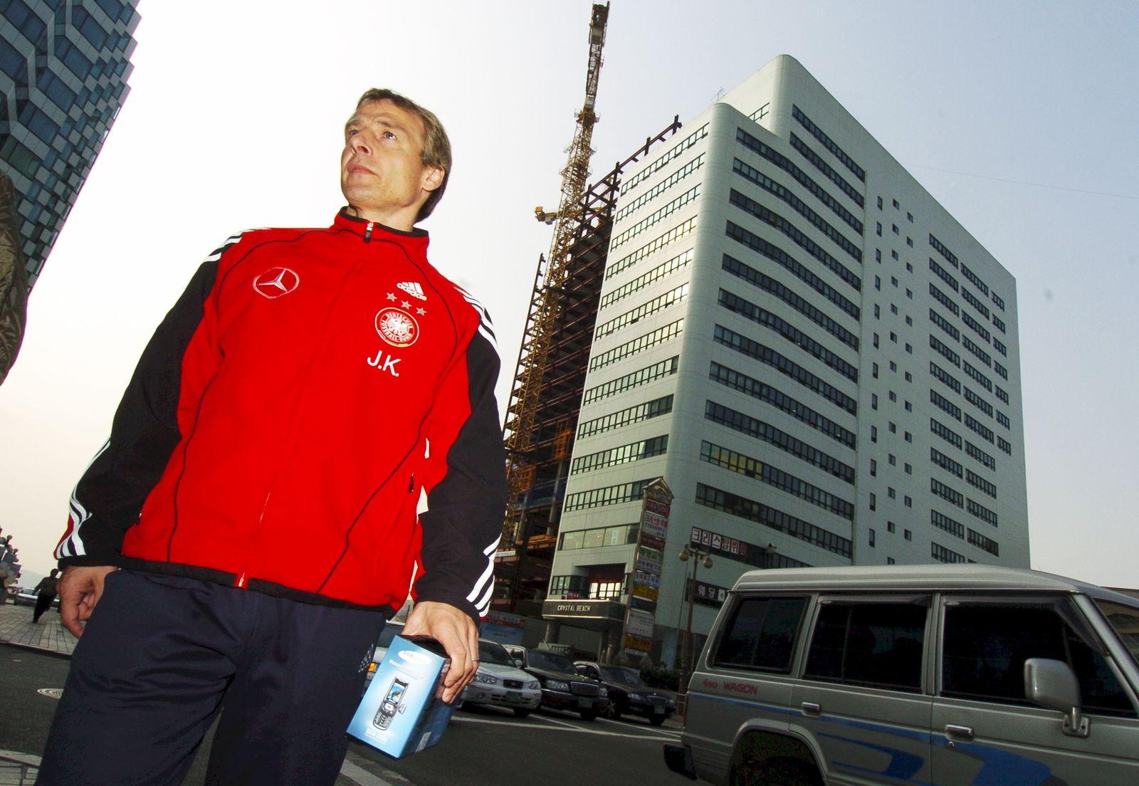 DFB-Trainer Jürgen Klinsmann in Busan