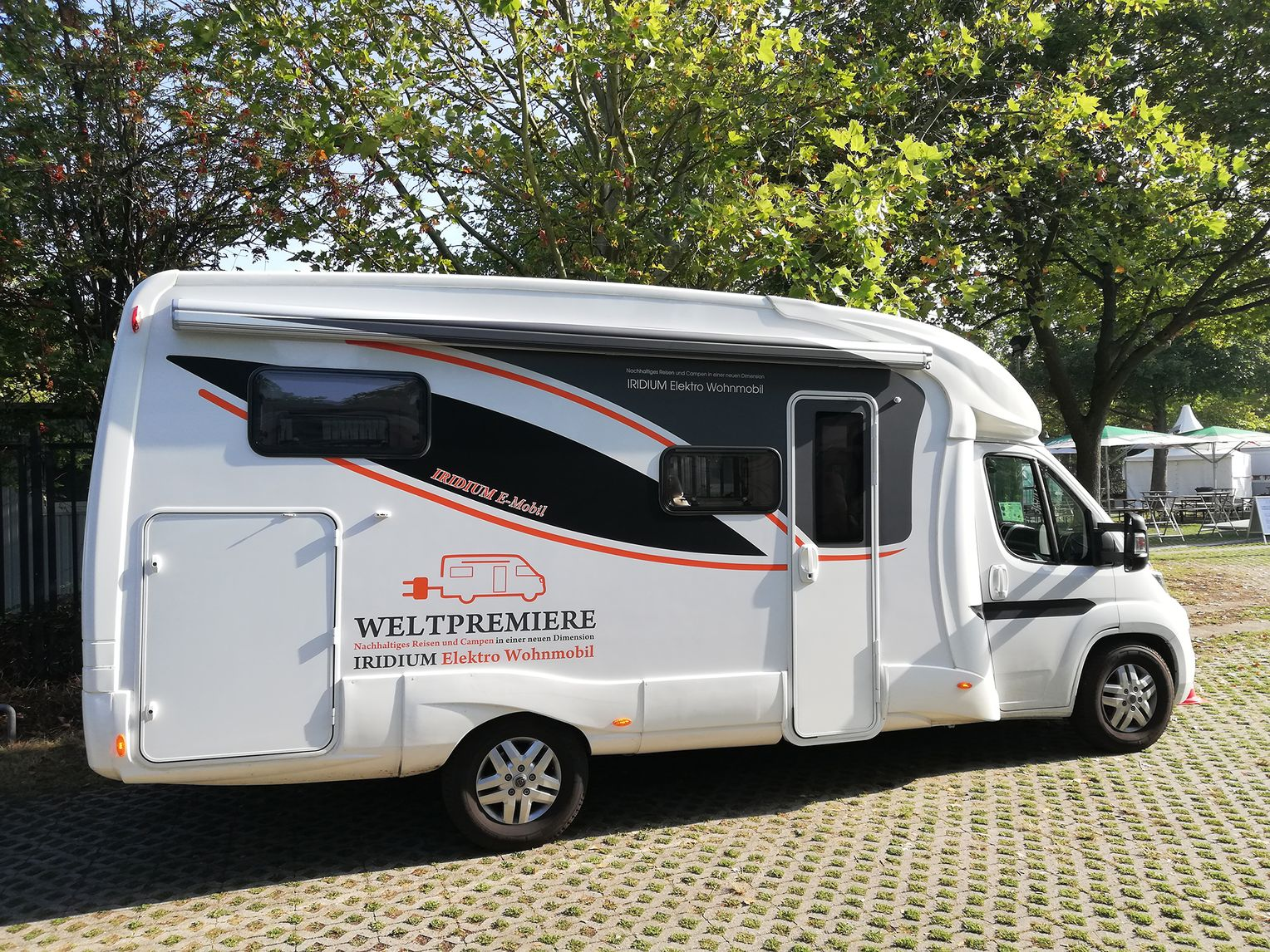 Iridium Wohnmobil mit Elektroantrieb geht in Serie: Zukunft des