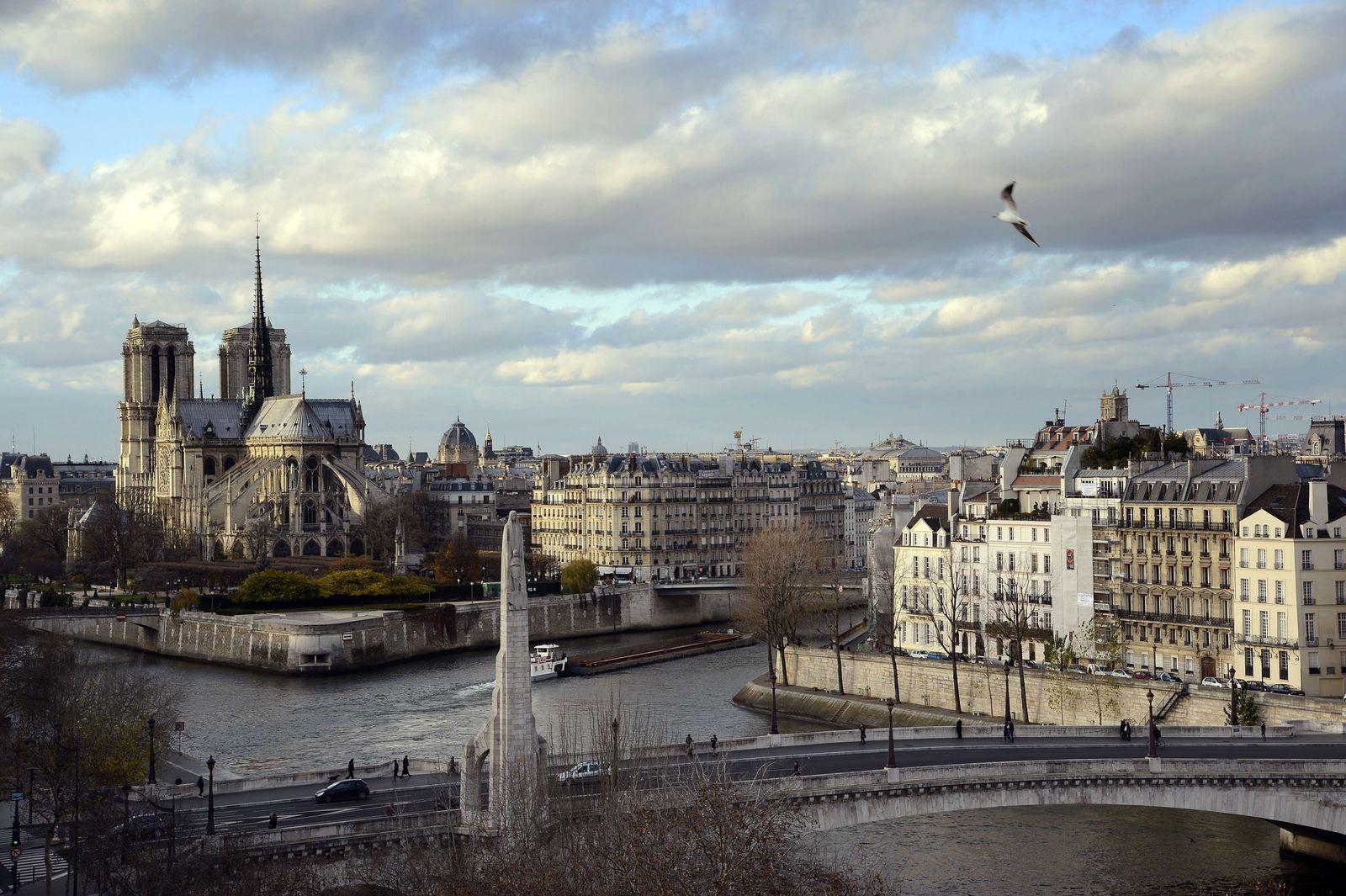 Frankreich/ Paris / Notre Dame/ Seine