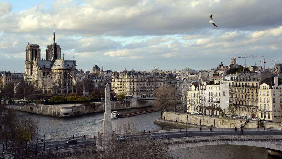 Die Kathedrale Notre Dame in Paris