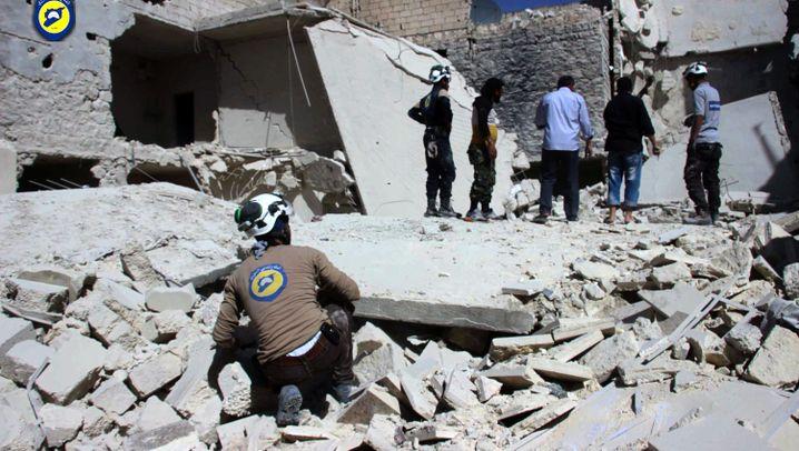 """Weißhelme in Aleppo: """"Wer ein einziges Leben rettet, rettet die ganze Menschheit"""""""