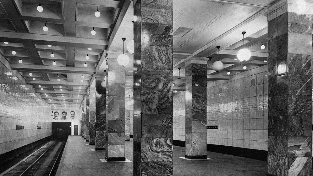 75 Jahre Metro Moskau: Prunk für das Proletariat