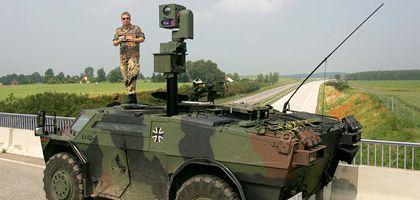 Bundeswehr-Spähpanzer bei Rostock während des G-8-Gipfels 2007: Die SPD will nun doch keine zusätzliche Streitkräftebefugnisse im Innern