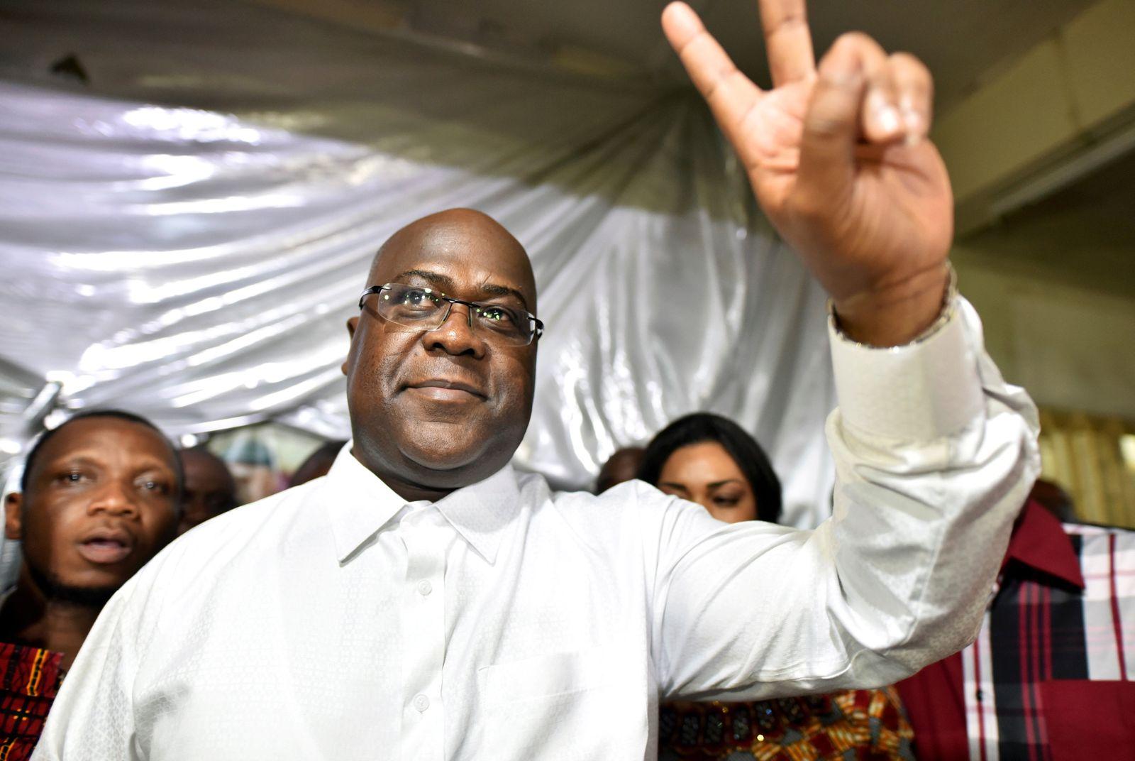 CONGO-ELECTION/ Tshisekedi