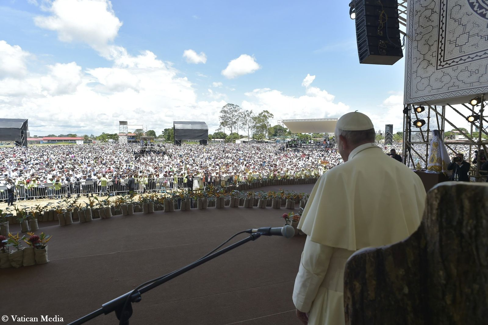 Papstbesuch in Peru