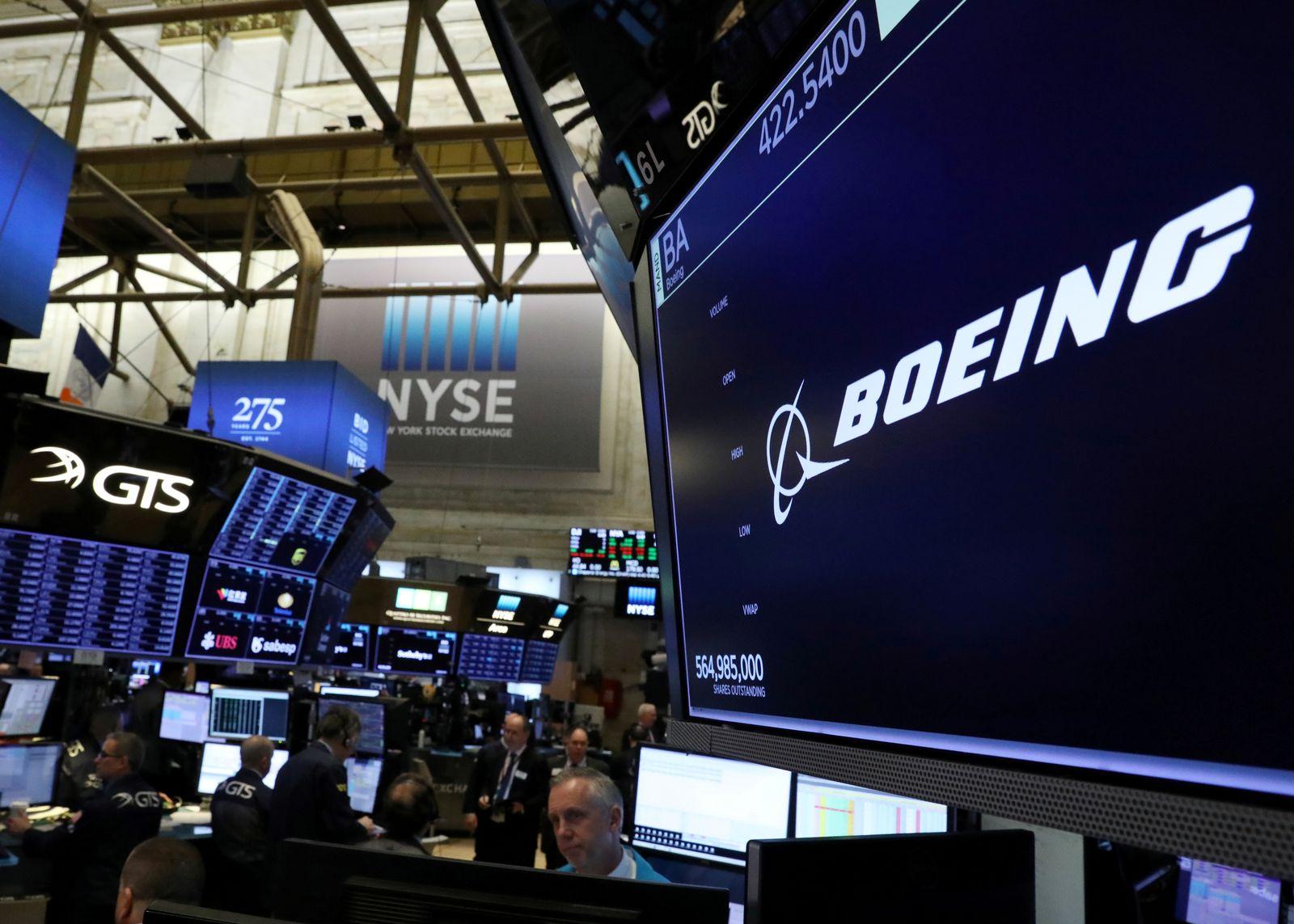 Boeing Börse