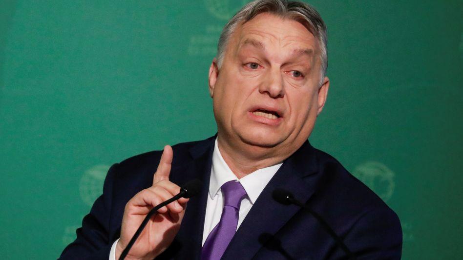 Premier Viktor Orbán hat das politische System seines Landes auf sich selbst ausgerichtet