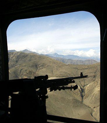 The US has taken the lead in much of Afghanistan.