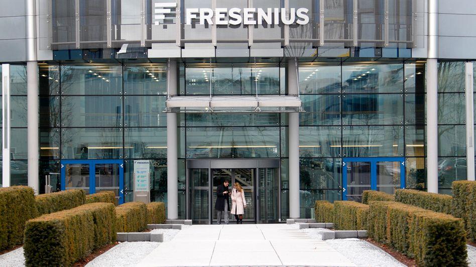 Fresenius-Hauptquartier in Bad Homburg: Neuer Großkonzern geplant
