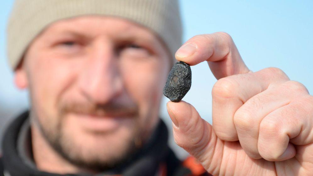 Einschlag in Russland: Suche nach Meteoritentrümmern