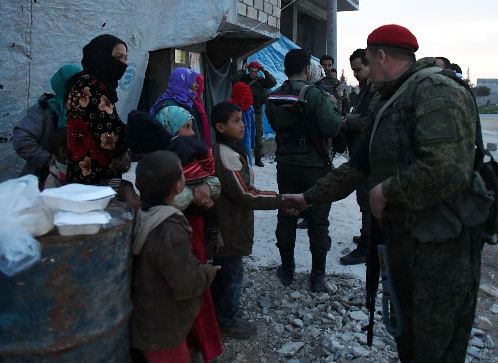 Syrien/ Russen/ Abu al-Duhur