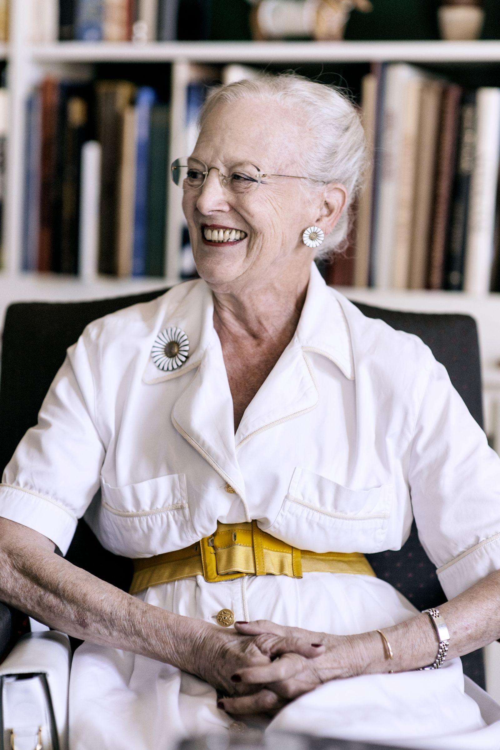 EINMALIGE VERWENDUNG Margrethe II von Dänemark
