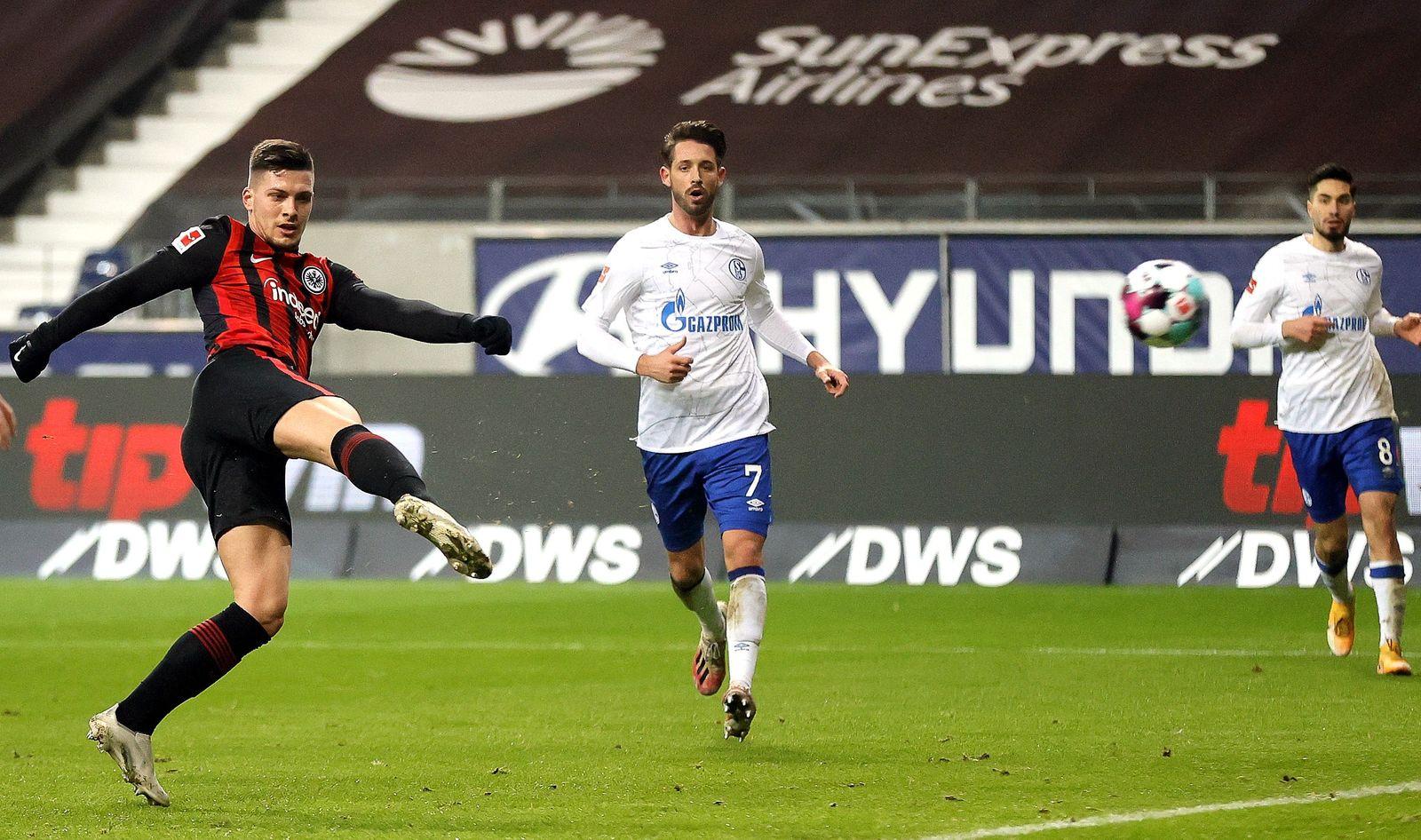 Eintracht Frankfurt vs FC Schalke 04, Germany - 17 Jan 2021