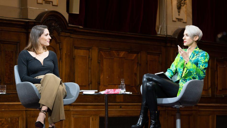 Sendung mit Andrea Petkovic und Lisa Eckhart: Spuren früherer Streitlust