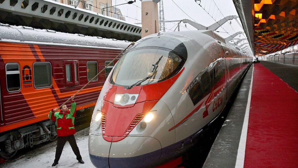 Siemens-Zug in Russland