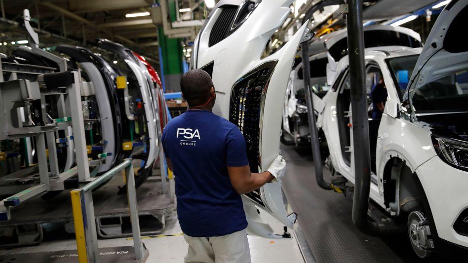 Opel-Produktion in Frankreich: Der Konzern gehört seit 2017 zu PSA