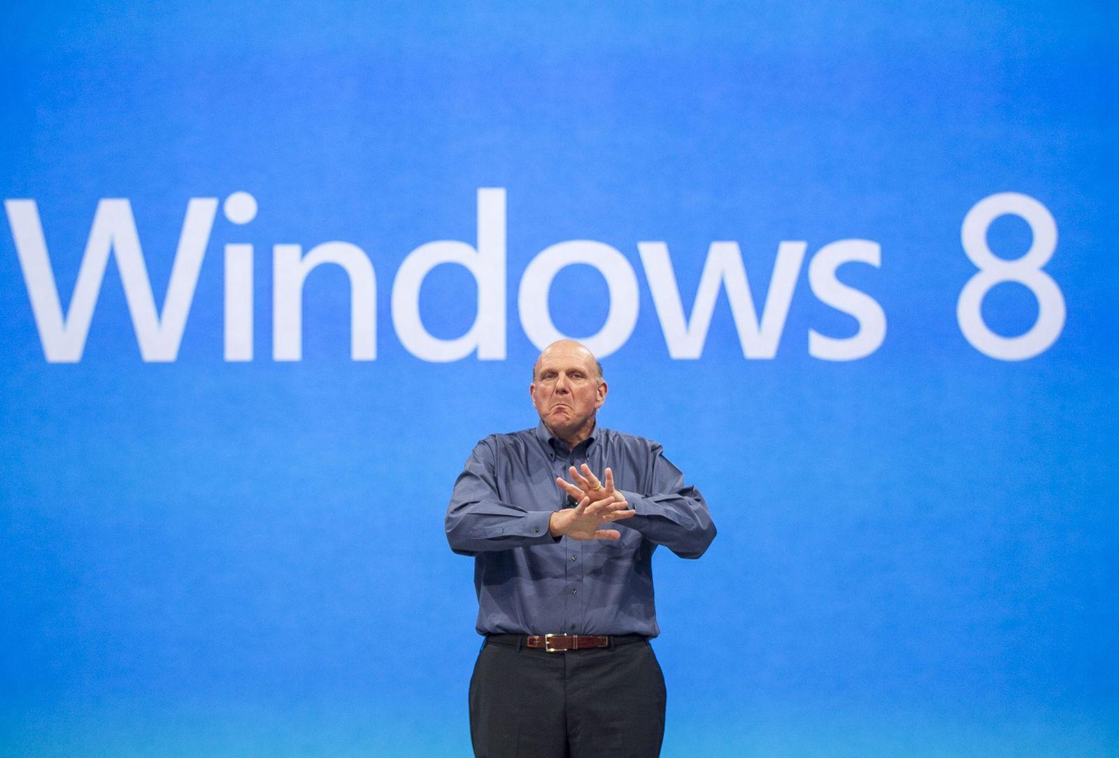Ballmer/ Windows 8