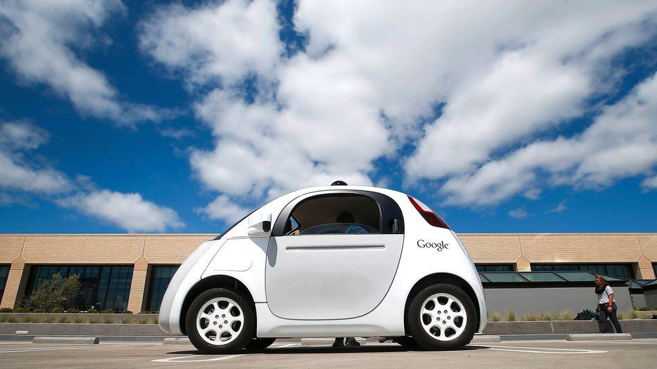 "Prototyp des selbstfahrenden Google-Autos ""Koala"": ""Was auch immer fährt"""