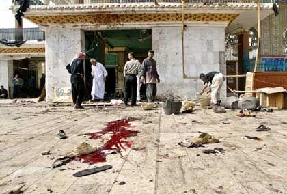 Imam-Kadem-Moschee in Bagdad: Stätte der Verwüstung