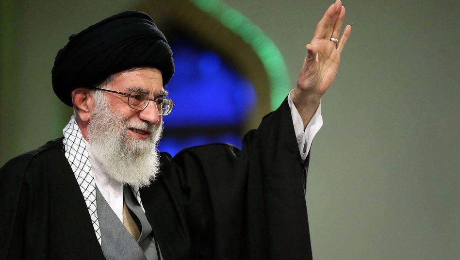 Irans religiöser Führer Ali Khamenei: Nicht vollends überzeugt