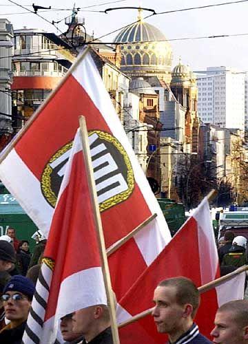 NPD-Demo in Berlin: Antijüdische Ressentiments