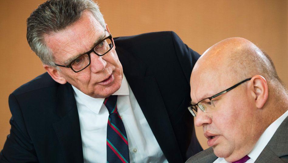 Peter Altmaier und Thomas de Maizière