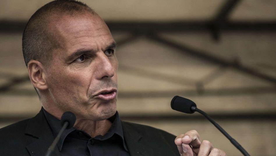 """Ex-Finanzminister Varoufakis: """"Unter politischen Gesichtspunkten sind wir zu weit auseinander"""""""