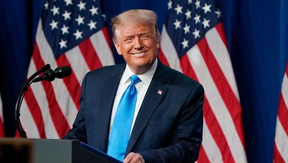 Präsident Donald Trump (im August)