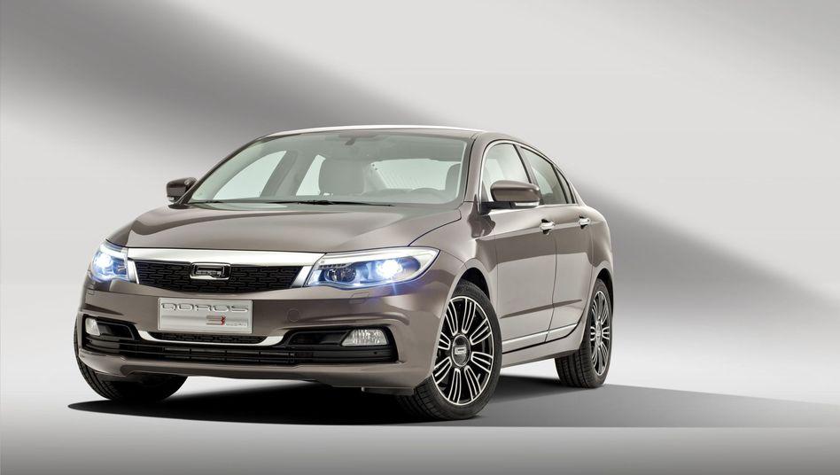 Qoros 3 Sedan: Fünf Punkte im EuroNCAP-Test
