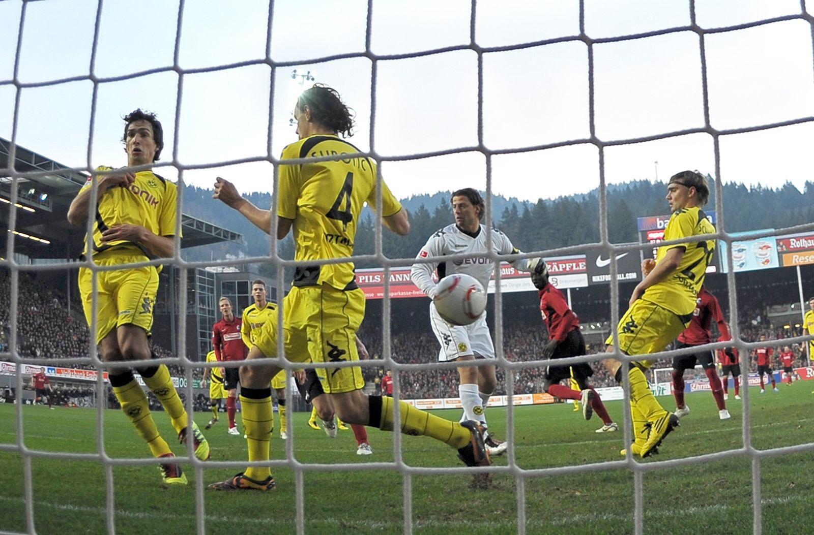 SC Freiburg - Borussia Dortmund Eigentor Hummels