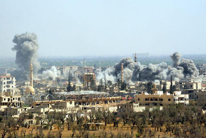 Luftangriff auf Duma am 7. April