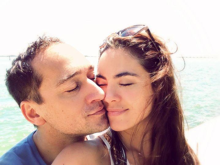 Paul van Dyk und seine Frau Margarita