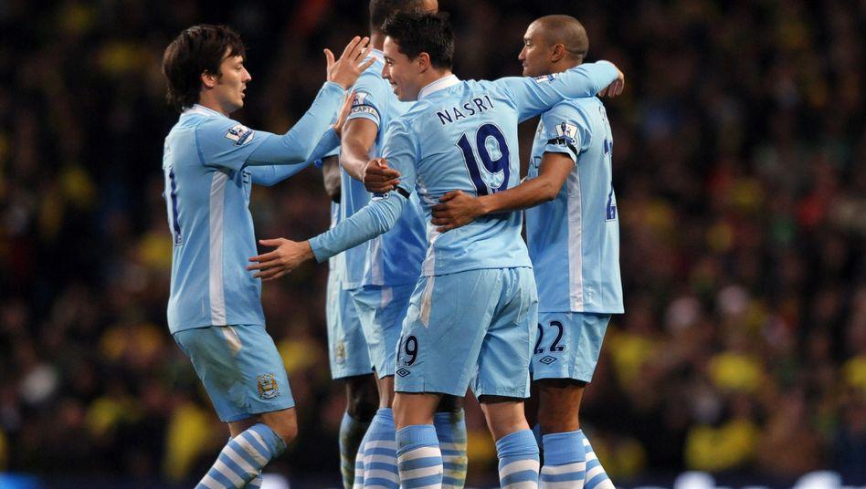 Manchester City-Profis: Sieg gegen Norwich City