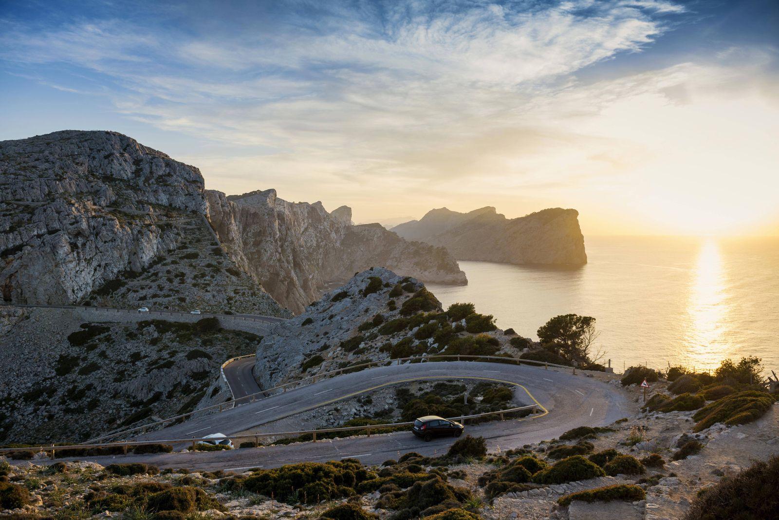 EINMALIGE VERWENDUNG Mallorca/ Tempolimit