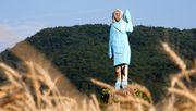 Holzstatue von Melania Trump in Slowenien angezündet