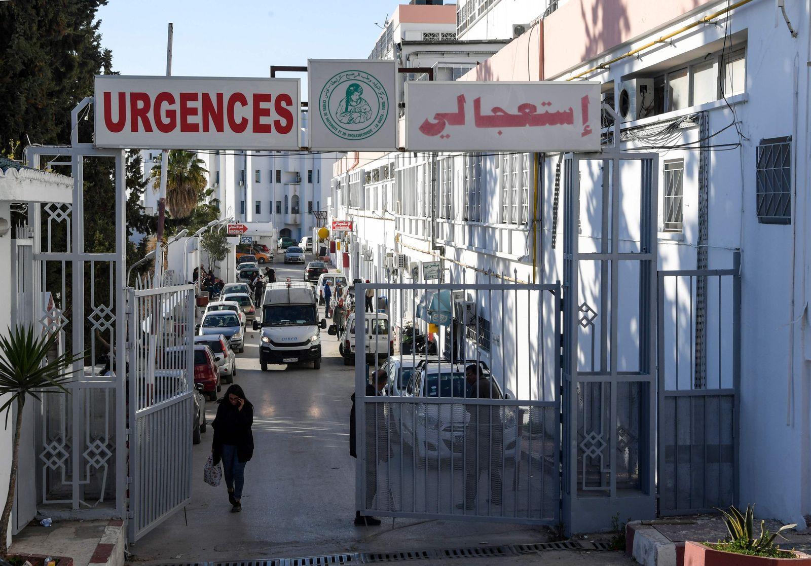 Tunesien Klinik Wassila Bourguiba State Maternity Hospital