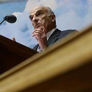 Hans-Rudolf-Merz: Der Schweizer Finanzminister verteidigt das Bankgeheimnis.