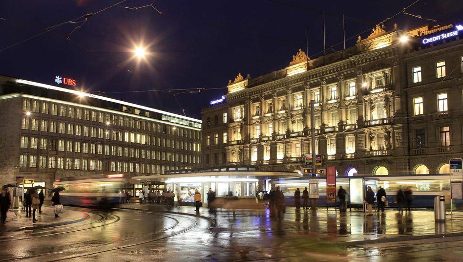 Banken in Zürich: Es drohen heftige Strafzahlungen