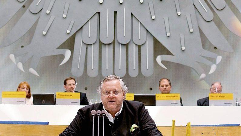 Solarunternehmer Asbeck: Spendendinner für die FDP