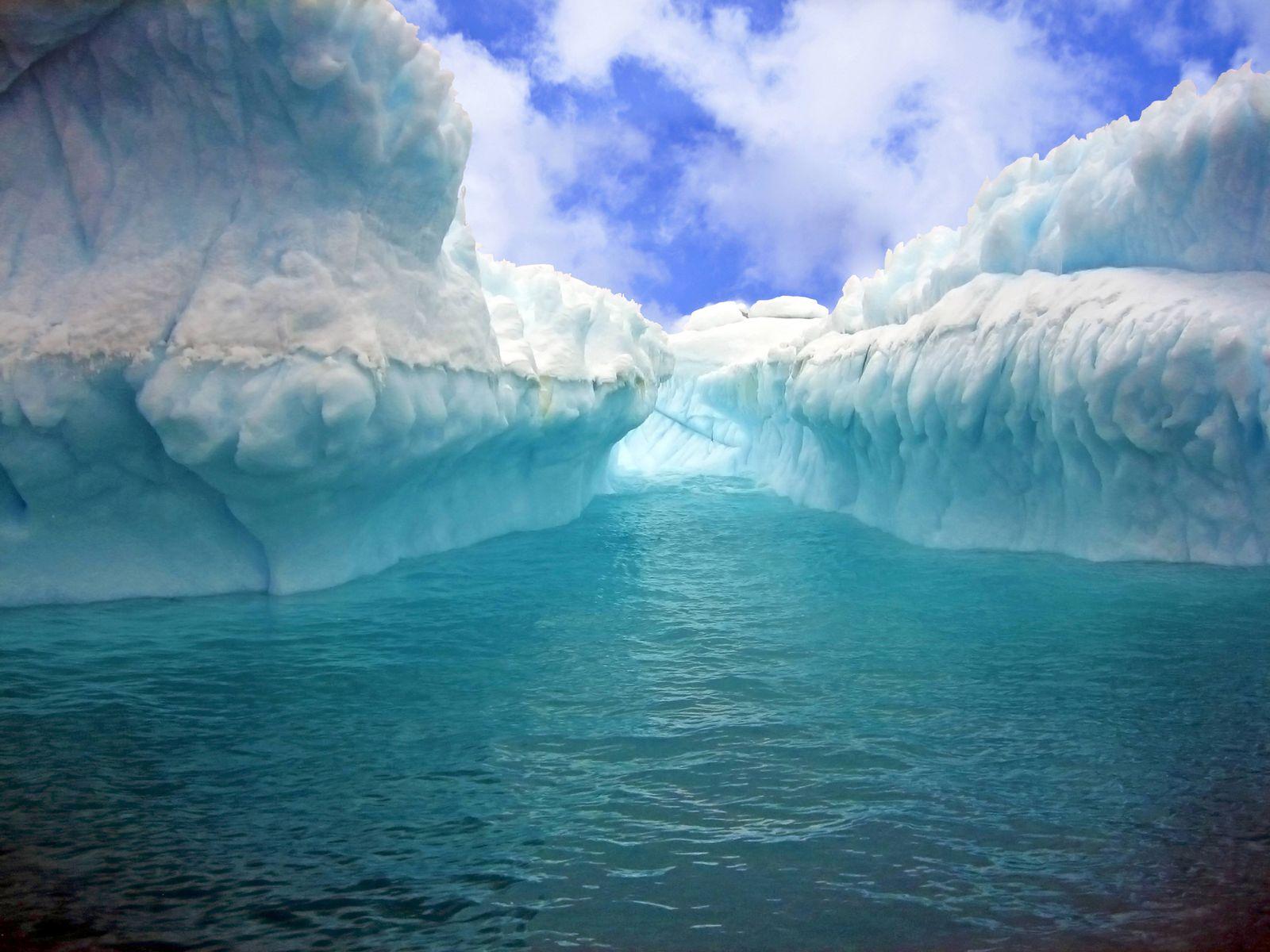 EINMALIGE VERWENDUNG Weddell-Meer