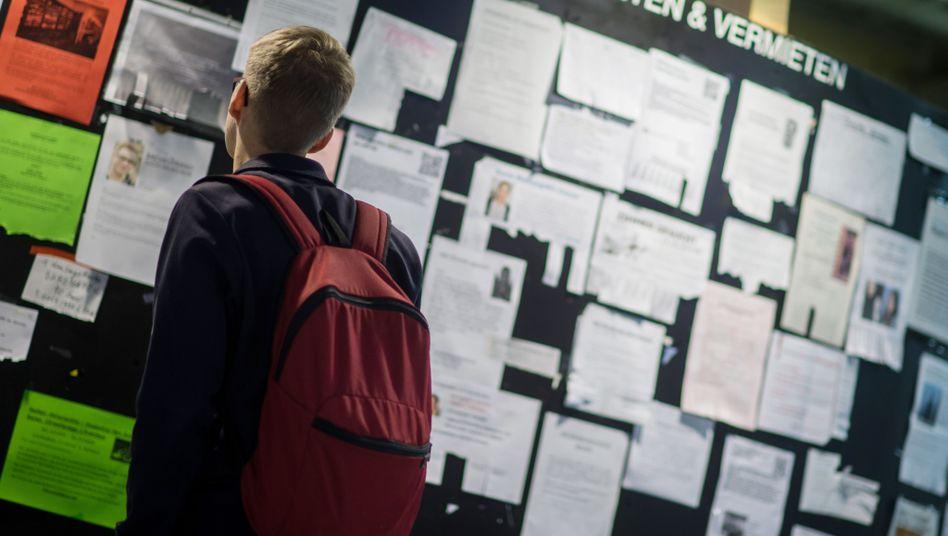 Student auf Wohnungssuche in München