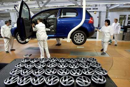 VW-Produktion in Wolfsburg: 1000 Jobs gesichert