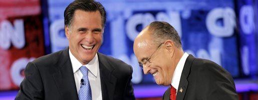 Rivalen Romney, Giuliani: Der Kampf hat begonnen