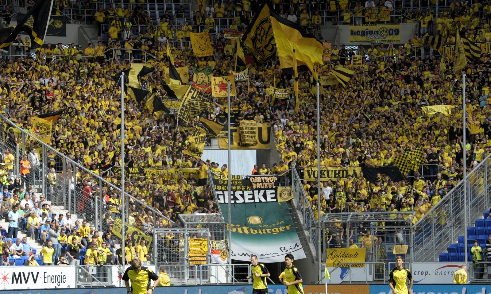 NICHT VERWENDEN Hoffenheim Dortmund Fußball