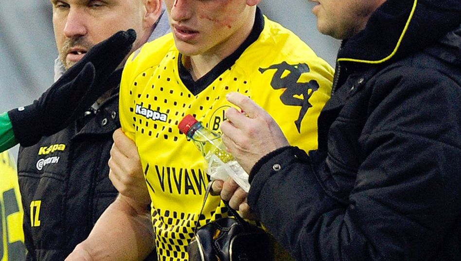 "BVB-Profi Bender (Mitte): ""Glück gehabt, nix gebrochen"""