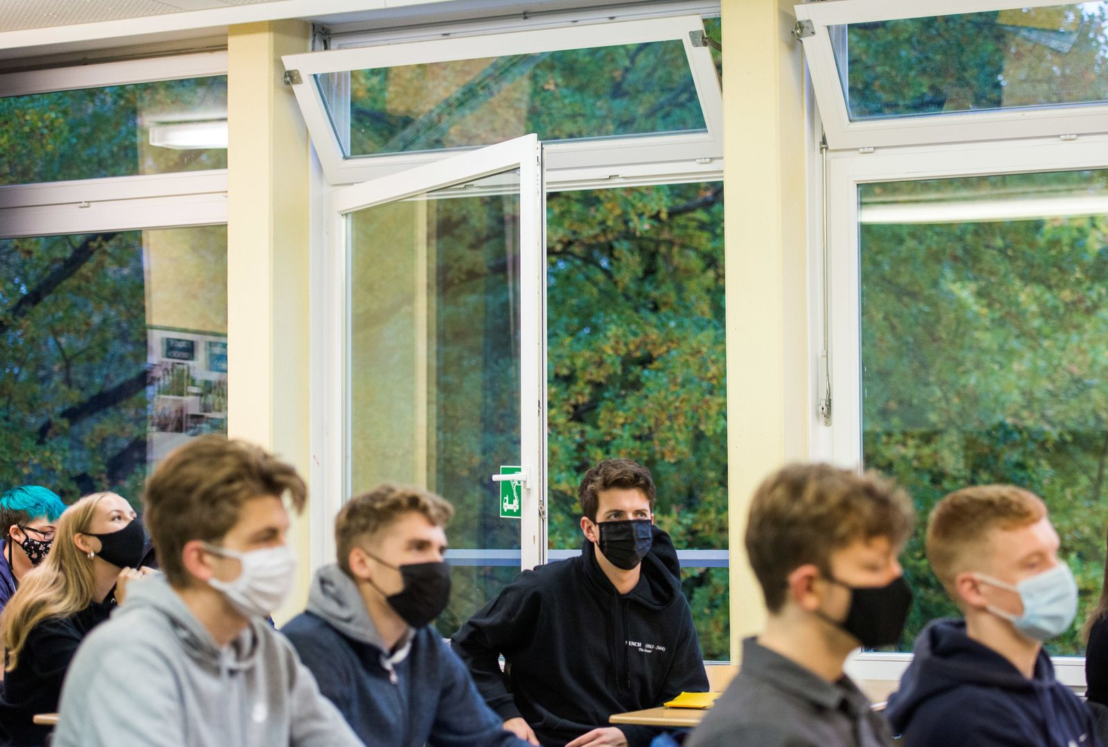 Vor Schulbeginn nach Herbstferien in NRW