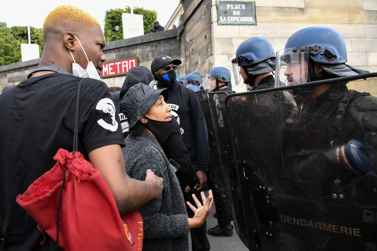 FRANCE-US-RACISM-PROTEST